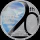 Stříbrná mince Pád Berlínské zdi 1 Oz 2009 Proof