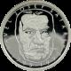 Stříbrná mince 200 Kč Pavel Josef Šafařík 200. výročí narození 1995 Proof