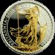 Stříbrná mince pozlacená Britannia 1 Oz Proof