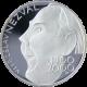 Stříbrná mince 200 Kč Vítězslav Nezval 100. výročí narození 2000 Proof