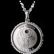 Stříbrný medailonek znamení zvěrokruhu Býk Proof