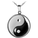 Stříbrný medailonek Jin Jang Proof
