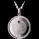 Stříbrný medailonek znamení zvěrokruhu Kozoroh Proof