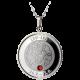 Stříbrný medailonek znamení zvěrokruhu Lev Proof