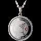 Stříbrný medailonek znamení zvěrokruhu Střelec Proof