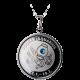 Stříbrný medailonek znamení zvěrokruhu Vodnář Proof