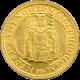 Zlatá mince Svatý Václav Jednodukát Československý 1923