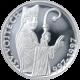 Stříbrná mince 200 Kč Sv. Vojtěch 1000. výročí úmrtí 1997 Proof