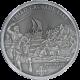 Stříbrná mince Třetí křížová výprava 2010 Standard Cook Islands