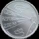 Stříbrná mince 200 Kč Viktor Ponrepo 150. výročí narození 2008 Standard