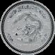 Stříbrná investiční mince Year of the Dragon Rok Draka Lunární 1 Oz 2000