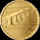 Zlatá mince 2500 Kč Zdymadlo na Labi pod Střekovem 2009 Standard