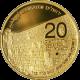 Múr nárekov Druhá Zlatá investičná minca Izrael 1 Oz 2011