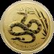 Zlatá investiční mince Year of the Snake Rok Hada Lunární 1 Oz 2013