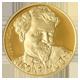 Zlatá půluncová medaile Alfons Mucha 2010 Proof