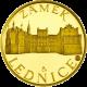 Zlatá uncová medaile Zámek Lednice 2011 Proof