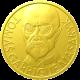 Zlatá uncová medaile T.G. Masaryk 75 let od úmrtí 2012 Proof