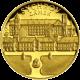 Zlatá čtvrtuncová medaile Zámek Sychrov 2011 Proof
