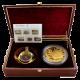 Exkluzivní zlatá mince 100 Oz Plachetnice Thomas W. Lawson 2008 Proof