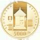 Zlatá mince 5000 Sk. Dědictví UNESCO - Vlkolínec