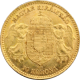 Zlatá mince Desetikoruna Františka Josefa I. Uherská ražba 1910