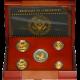 American Eagle Exkluzivní sada zlatých mincí 25. výročí Proof 2011